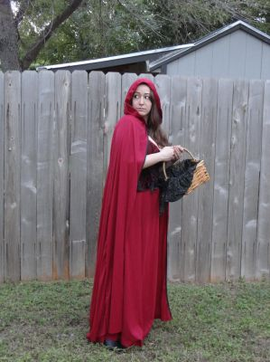 Red Riding Hood 2 by HiddenYume-stock