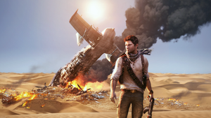 Uncharted 3 HD Wallpaper by keereeyos