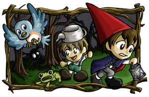Over the Garden Wall by Kasandra-Callalily