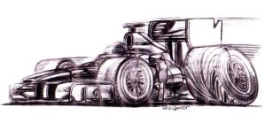 Formula One Ferrari by theTobs
