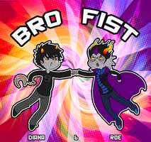 Collab: Aquancerius bro fist by roseannepage