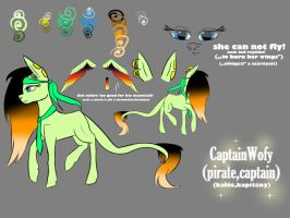 CaptainWofy's Character Page! by CaptainWofy