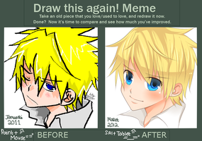 Draw This Again Meme - Random Headshot by finnborden