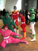 Go Go Power Rangers! by DeuceLoosely