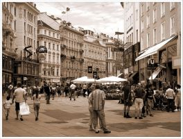 Streets of Vienna - 3 by Andrei-Joldos