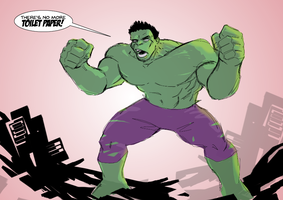 Hulk need two-ply! by wildcats25