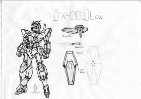 TX-001 Gundam Lex by Linkinpark30101