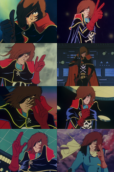 Captain Harlock - a Pirate with Honor by TheWolfPoet23