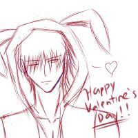 Maple OC-Dante Valentine's day by PrinceKara