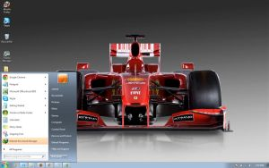 Ferrari-F60 windows 7 theme by windowsthemes