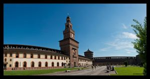 Castello Sforzesco I by Emilio-Casini