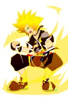 New Sora Supersaiyan by PictorIocus