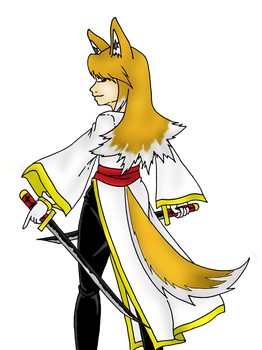 Request: villyvalley16 Rosa the Akita gijinka by Heartless-Gone-Wild