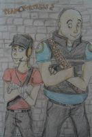 Scout and Heavy by Hukkis
