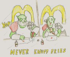 WH40k: Never Enuff Fries by wightpower