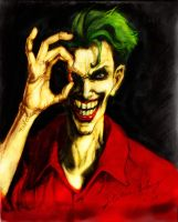 Dead to Rights Joker colored by lovejoker4ever