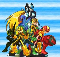 Megaman Sentai: Main Cross by DarkStrings