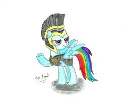 Rainbow Dash as: Commander Hurricane by UlyssesGrant