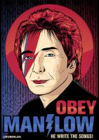 OBEY MANILOW NOW by roberlan