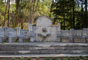 forgotten fountain by AlenaKrause