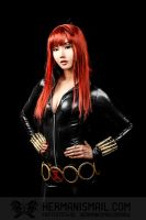 Black Widow cosplay by Alodia by hermanstudio