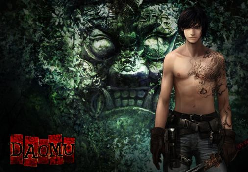 Daomu Xie Wu Wallpaper by Concept-Art-House
