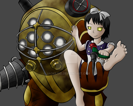 Big Daddy and Little Sister by Jackiloid