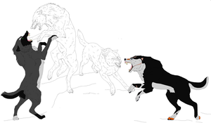 AT ~ The Snarls of Protection WIP by Massacres-Depression