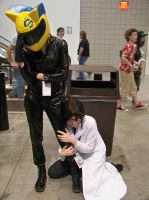 Animazement 2013: Shinra and Celty Cosplay by naruto6393