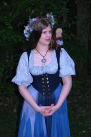 A Comely Tavern Wench by jahendrick