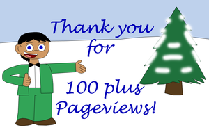 Thanks for 100 plus pageviews by MotherOC-Rico