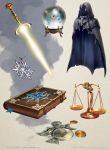 Magic Items by Griffinfly