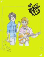 The Black Keys by Kumu18