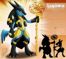Lupinra- Lucario fan evolution concept by xXLightsourceXx