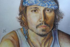 Johnny Depp by Vict0riaZ