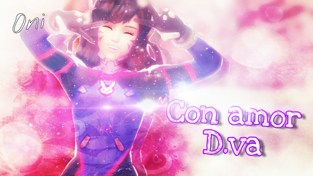 ''With love, D.va'' by OniGamerXD