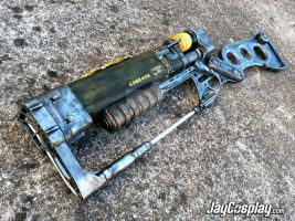 AER9 Laser Rifle (v2.0) Prop Replica (Front) - #01 by JayCosplay