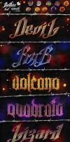 Gothic Text Effects - Photoshop Styles by KoolGfx