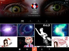 I have 100 photos in PicsArt by JudytaDragon