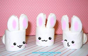 Marshmallow Bunnies by The-Cute-Storm