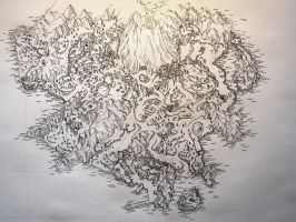WIP: High Detailed Map Inked by art-anti-de