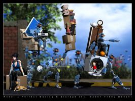 Robotix Moving and Storage by Fredy3D