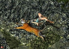 130728_TR2_Great_Wall_Lara's_first_tiger by McGaston