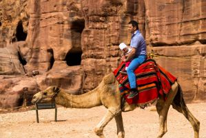 People in Petra 3 by ShlomitMessica