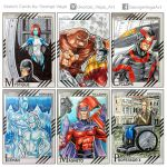Marvel Fleer 2015 X-men by shaotemp