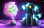 Smile Umbreon, Smile by Deruuyo