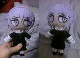 Crona Plushie by CursedPuppetRuo