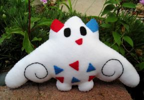 Togekiss Plush by P-isfor-Plushes