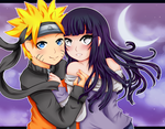 NaruHina: Hug by Ivory-Ice
