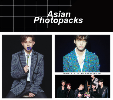 Photopack 1499 // MONSTA X (THE CLAN 2.5 TFC). by xAsianPhotopacks
